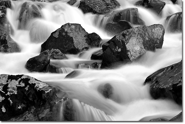 Upper South Fork of Eagle River, Chugach State Park, Alaska